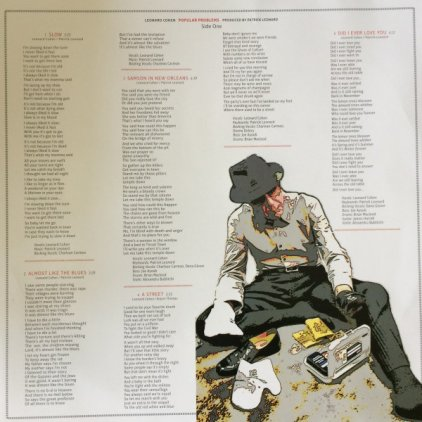 Виниловая пластинка Leonard Cohen POPULAR PROBLEMS (LP+CD/180 Gram/W284)