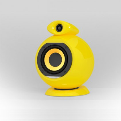Полочная акустика EBTB Pluto shiny yellow