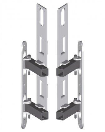 Крепление RCF AC VSA S-BR Шарнирный кронштейн для настенной установки VSA 2050
