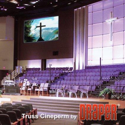 "Экран Draper Cineperm HDTV (9:16) 234/92"" 114*203 HDG"