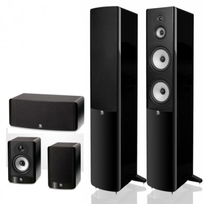 Boston Acoustics A360 + A25 + A225C black