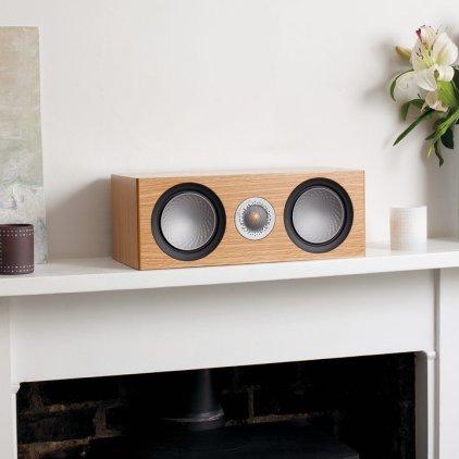 Акустика центрального канала Monitor Audio Silver 6G C150 black oak