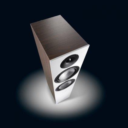 Напольная акустика Canton GLE 476 mocca/white