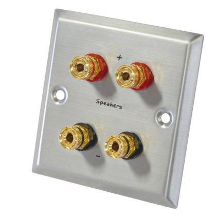 Dynavox настенная консоль с 2 парами аудио коннекторов (205099)