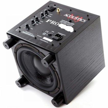 Сабвуфер MJ Acoustics Pro 60 black ash