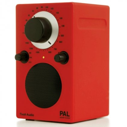 Радиоприемник Tivoli Audio Portable Audio Laboratory sunset red (PALRED)
