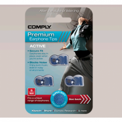 Амбушюры Comply S-200 Blue Medium (3 пары)