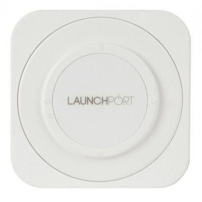 iPod Hi-Fi Launch Port WallStation white