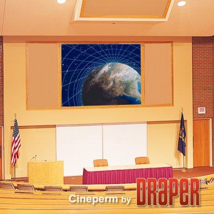 "Экран Draper Cineperm NTSC (3:4) 229/7 1/2' (90"") 138*183 M1300 250013"