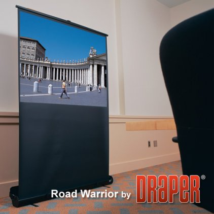 "Экран Draper RoadWarrior NTSC (3:4) 203/80"" 122*163 MW"