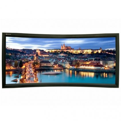 "Экран Lumien Cinema Home Curved 148x252 см (раб. область 132х235 см) (106"") Matte White, изгиб 25°"