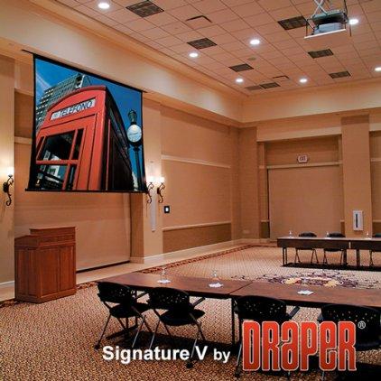 """Экран Draper Signature/V NTSC (3:4) 508/200"""" 300*401 М1300 ebd 12"""""""