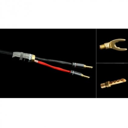 Акустический кабель Atlas Mavros (2->2) 7.0m Transpose Spade Gold