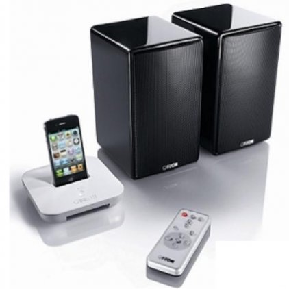 Полочная акустика Canton your_Duo/your_Dock Bundle black high gloss