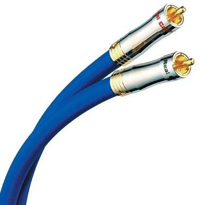 Кабель межблочный аудио Real Cable CA OCC 90 0.75m