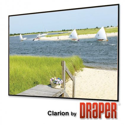 "Экран Draper Clarion NTSC (3:4) 335/132"" 201*267 M1300"