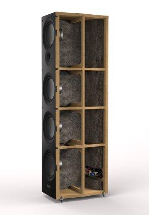 Напольная акустика Mission VX-4 blackwood