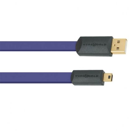 USB кабель Wire World Ultraviolet 7 USB 2.0 A-miniB 2.0