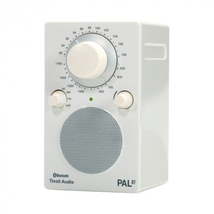 Радиоприемник Tivoli Audio PAL BT glossy white/white