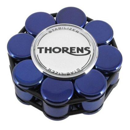 Прижим для виниловых дисков Thorens (голубой акрил)