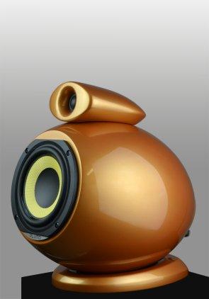 Полочная акустика EBTB Pluto antique gold