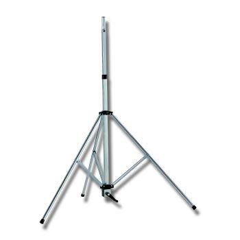 Стойка EuroMet BS/60 Стойка для громкоговорителей до 70кг, с треногой и механизмом для подъема, сталь с гальваническим покрытием. h:1290-2040mm.
