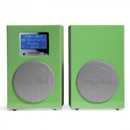 Радиоприемник Tivoli Audio NetWorks Stereo with FM Acid Green/Silver (NFCAG)