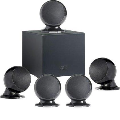 Комплект акустики Cabasse Alcyone 2 System 5.1 (Glossy black)