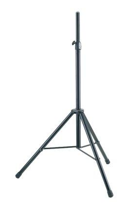 Стойка K&M K&M 21436-009-55 стойка для акустической системы, диаметр 35мм, высота от 1320 до 2020 мм, алюминий, черная