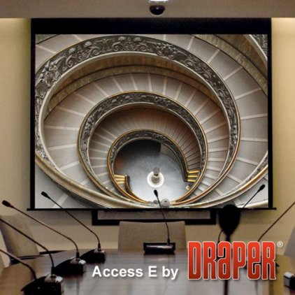 "Экран Draper Access/V HDTV (9:16) 234/92"" 114*203 M1300 ebd 12"""