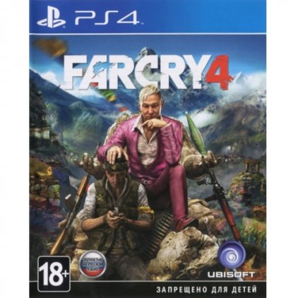 Игра для PS4 Far Cry 4 (русская версия)