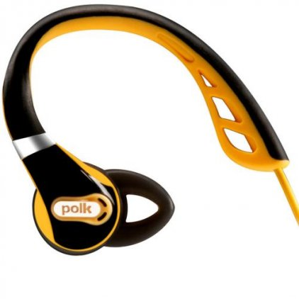 Наушники Polk audio UltraFit 500 black/gold