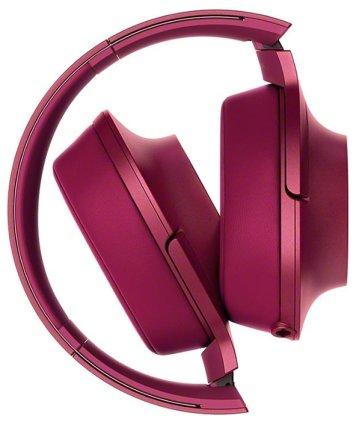 Наушники Sony MDR-100AAP pink