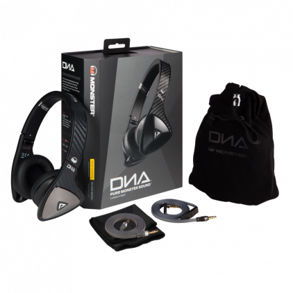 Наушники Monster DNA On-Ear Headphones Carbon Black (137008-00)