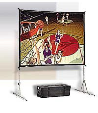Экран Da-Lite Fast Fold Deluxe 183x244, Da-Tex