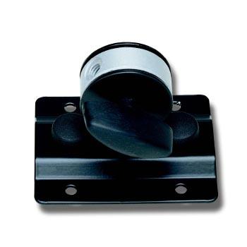 Крепление EuroMet LM Адаптер для установки громкоговорителя до 10 кг на микрофонную стойку, пластина 100 х 80 mm, сталь черного цвета.