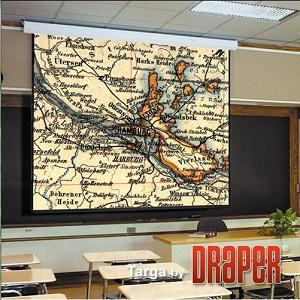 "Экран Draper Targa NTSC (3:4) 335/132"" 198*264 HCG (XH800E)"
