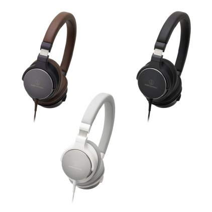 Наушники Audio Technica ATH-SR5 brown