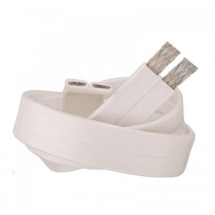Акустический кабель Supra Flat 2x1.6 white м/кат (катушка 200м)