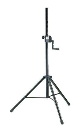 Стойка K&M K&M 21302-009-55 стойка-элеватор для акустических систем, выс.1385-2180 мм , диам. 35 мм, болт М10, нагр. до 40 кг, сталь,чёрная