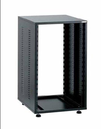 EuroMet EU/R-22L  00518  2 части  Рэковый шкаф, 22U, глубина 500мм, сталь черного цвета.