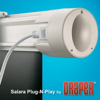 "Экран Draper Salara HDTV (9:16) 234/92"" 114*203 HCG (XH800E) ebd 12""TBD"