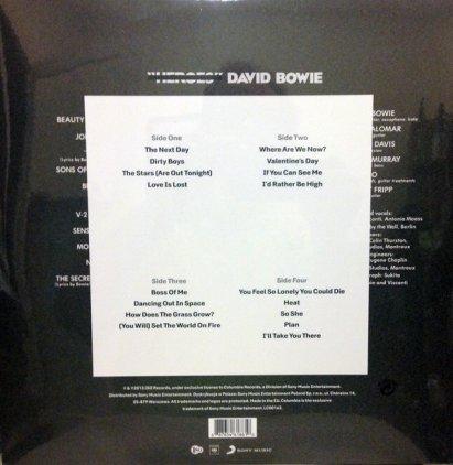 Виниловая пластинка David Bowie THE NEXT DAY (2LP+CD/180 Gram)