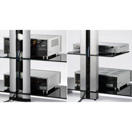 Подставка под телевизор Sonorous NEO 95 B SLV