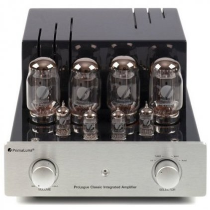 Ламповый усилитель PrimaLuna ProLogue Classic (el34) silver