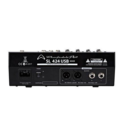 Микшер Wharfedale Pro SL424 USB