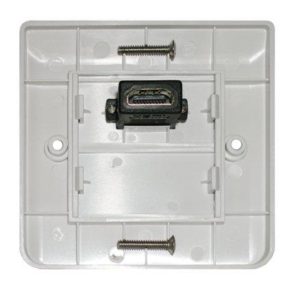 HDMI розетка Dr.HD 1xHDMI квадратная