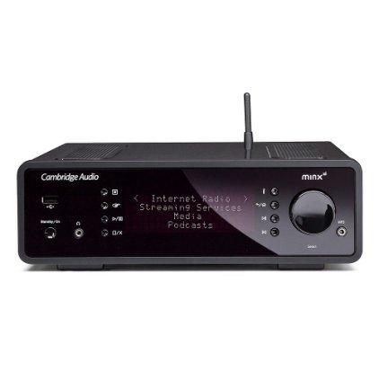 Сетевой аудио проигрыватель Cambridge Minx Xi black