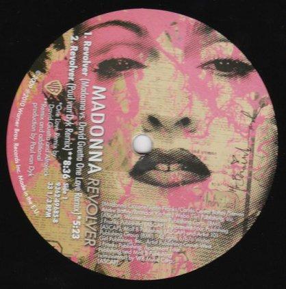 Виниловая пластинка Madonna REVOLVER (REMIXES) (7 tracks)