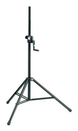 Стойка K&M 21300-009-55 стойка для акустических систем, материал сталь, цвет черный